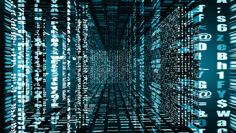 Futuristisk Digital ljus teknologi 10936 stock illustrationer