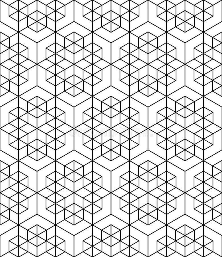 Futuristisk fortlöpande kontrastmodell, illusive motivabstrakt begrepp vektor illustrationer