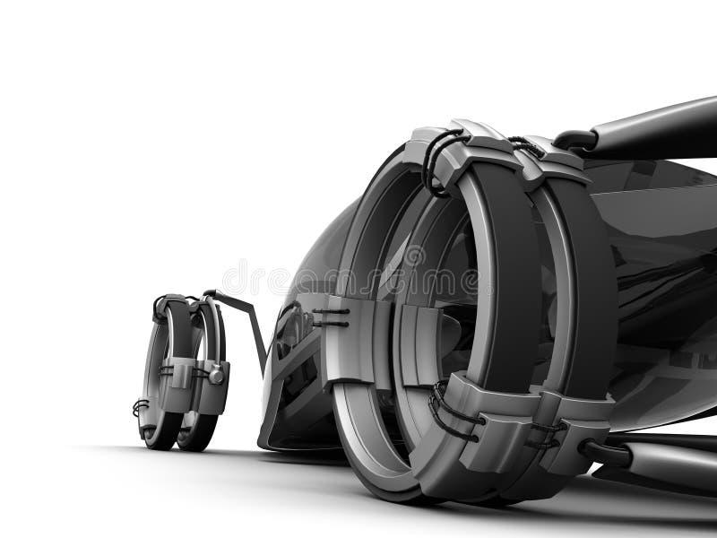 Futuro de Conceptcar stock de ilustración