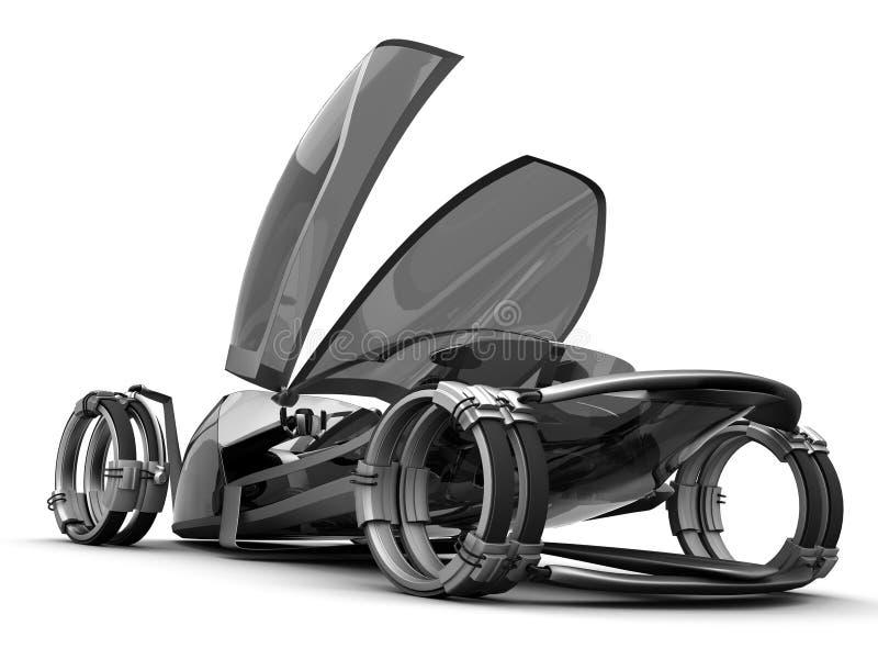 Download Futuro de Conceptcar ilustração stock. Ilustração de carro - 16869517