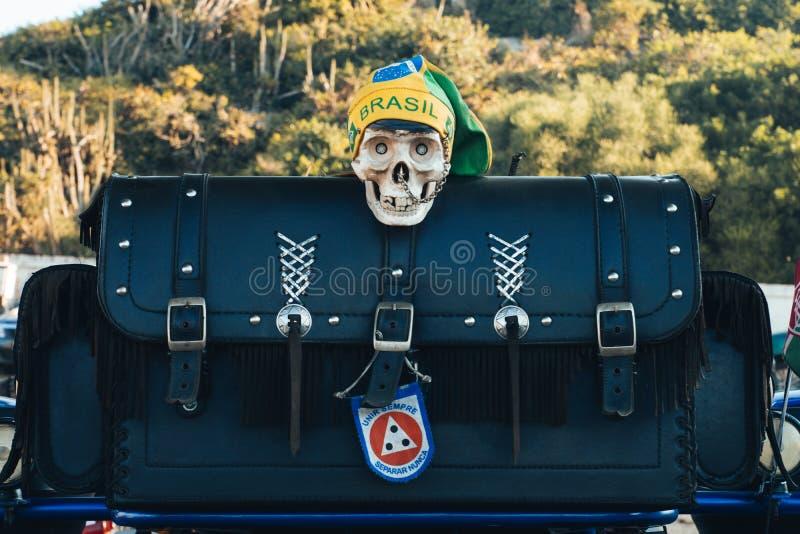 Futuro del Brasile nel gioco dal 2019 fotografia stock