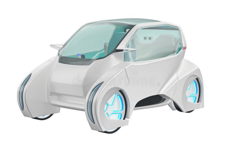 Futuro dell'automobile futuristico illustrazione vettoriale
