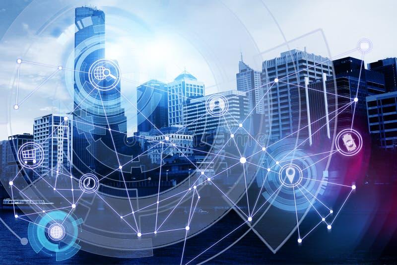 Futuro e conceito da inovação foto de stock