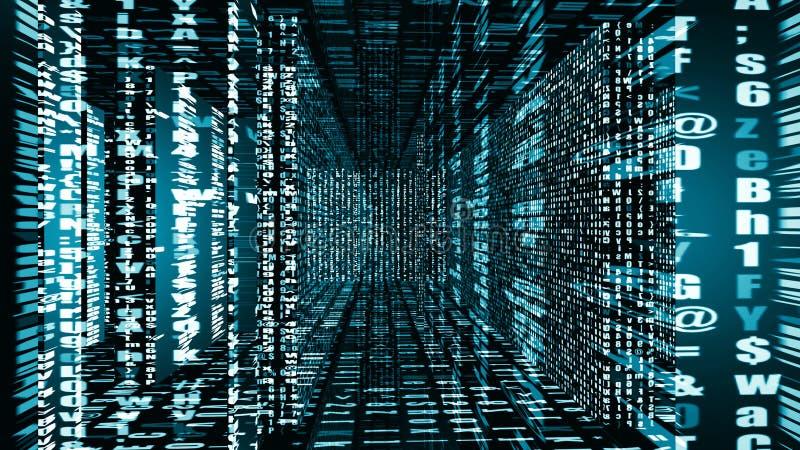 Futurystyczna Digital światła technologia 10936 ilustracji