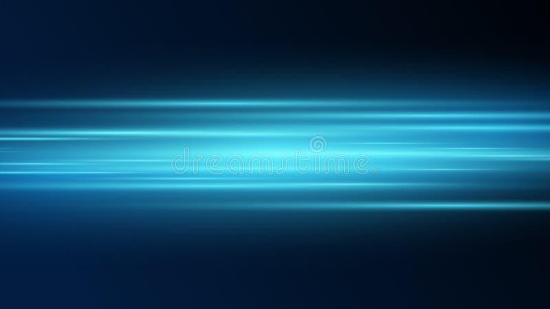 futurystyczna element technologia na zmroku błękitny tło, prędkość interneta tło -, energetyczny promienia skutek, komputer i kom royalty ilustracja