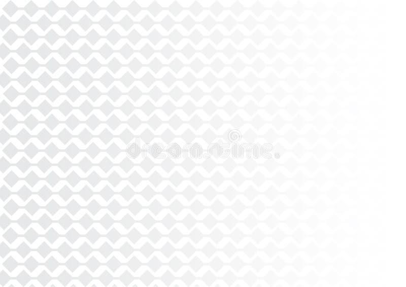 Futurystycznej technologii biały Gradientowy tło ilustracja wektor