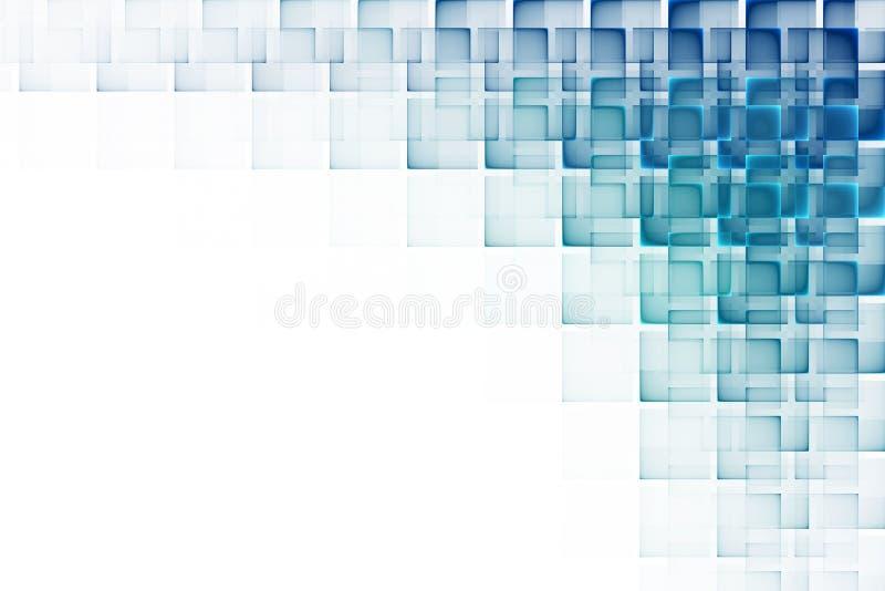 futurystyczny abstrakcjonistyczny tło ilustracja wektor