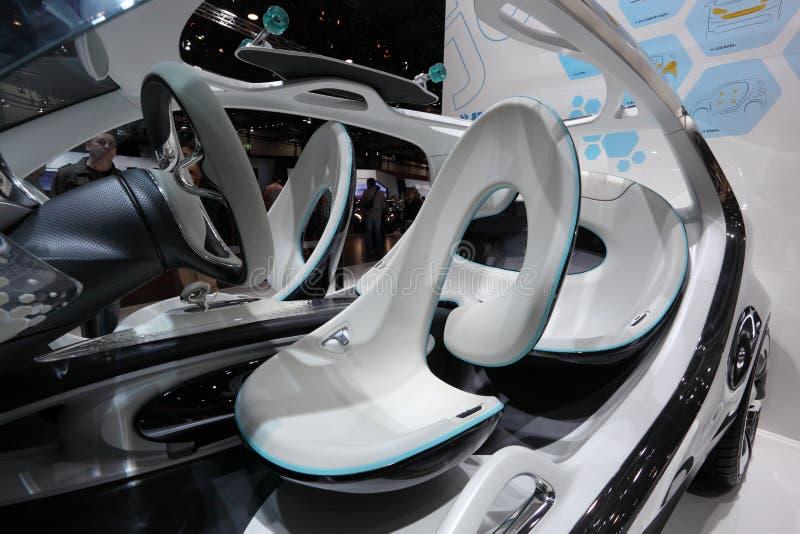 Futurystyczny Mądrze Fourjoy pojęcia samochód obraz royalty free