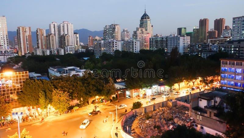 Fuzhou, Chiny obraz royalty free