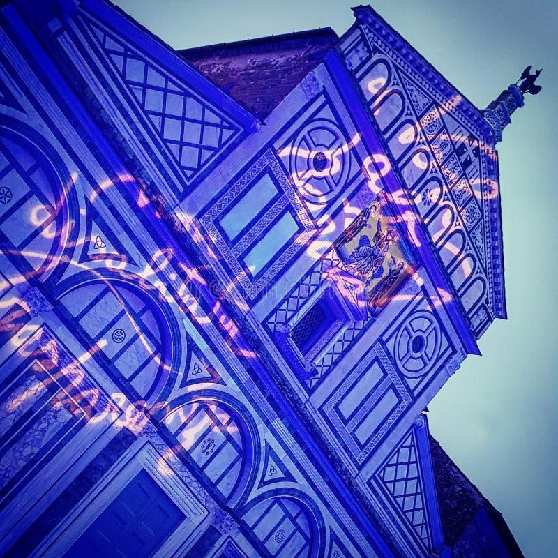 Fuzja kościół zdjęcia royalty free