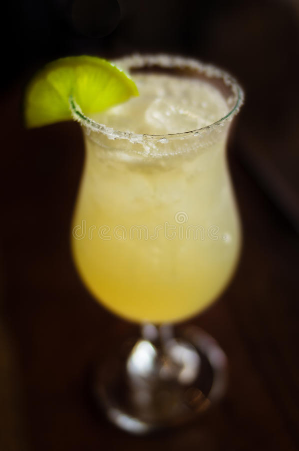Fuzzy Margarita With Lime images libres de droits
