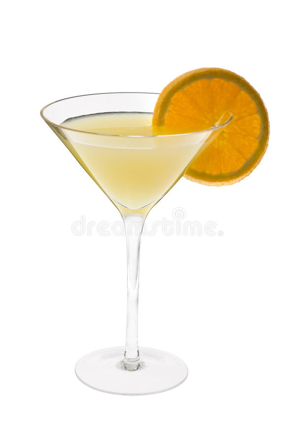 Fuzzy Navel Cocktail royalty free stock images