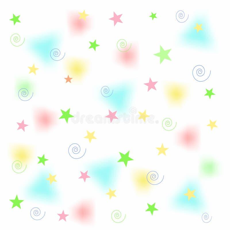 Free Fuzzy Pastel And Stars Royalty Free Stock Photos - 16808788