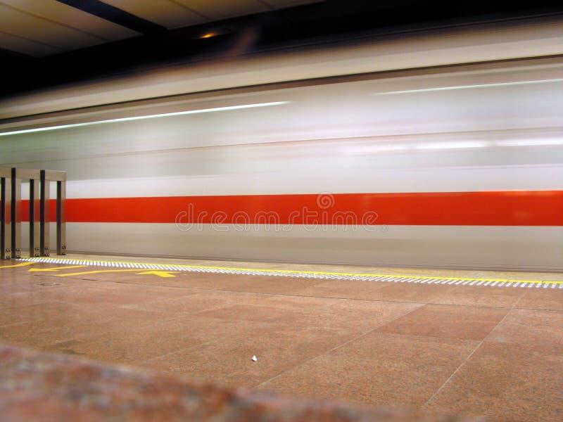 fuzzy prędkość pociągu obrazy royalty free
