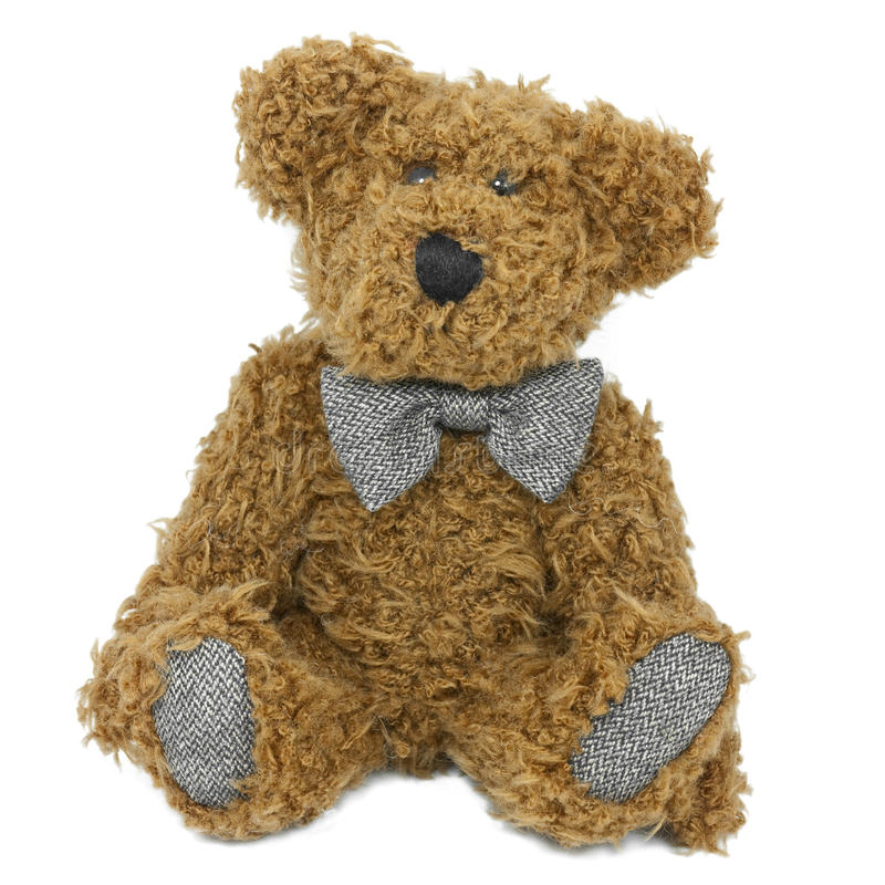 Download Fuzzy Stuffed Teddy Bear stock image. Image of alone - 11517785