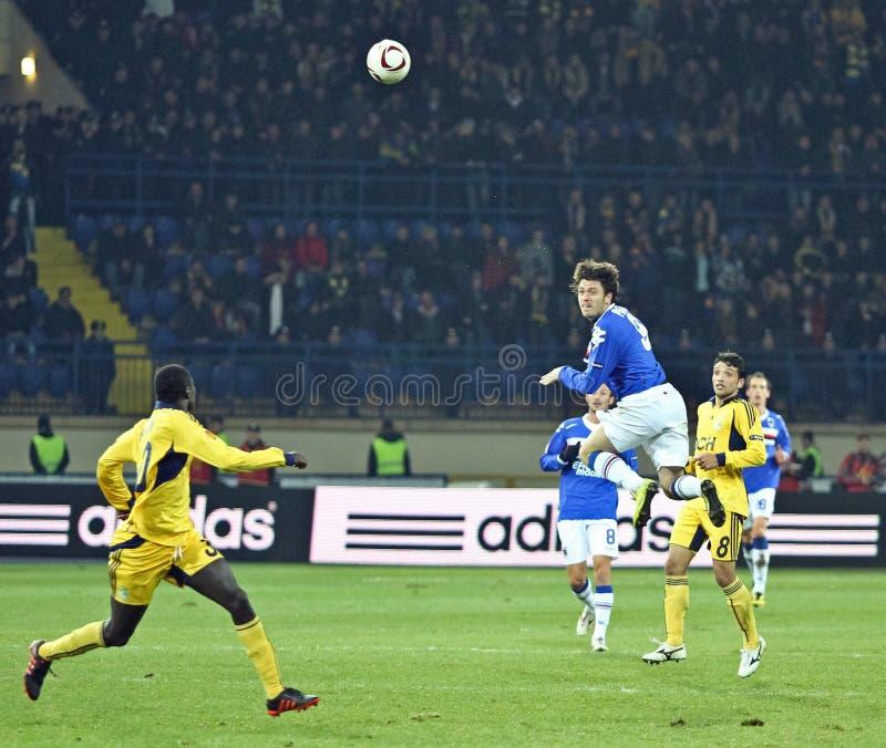 fw sampdoria pozzi nicola της Γένοβας στοκ εικόνα με δικαίωμα ελεύθερης χρήσης
