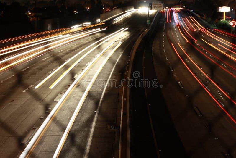 91 FWY, CA photo libre de droits