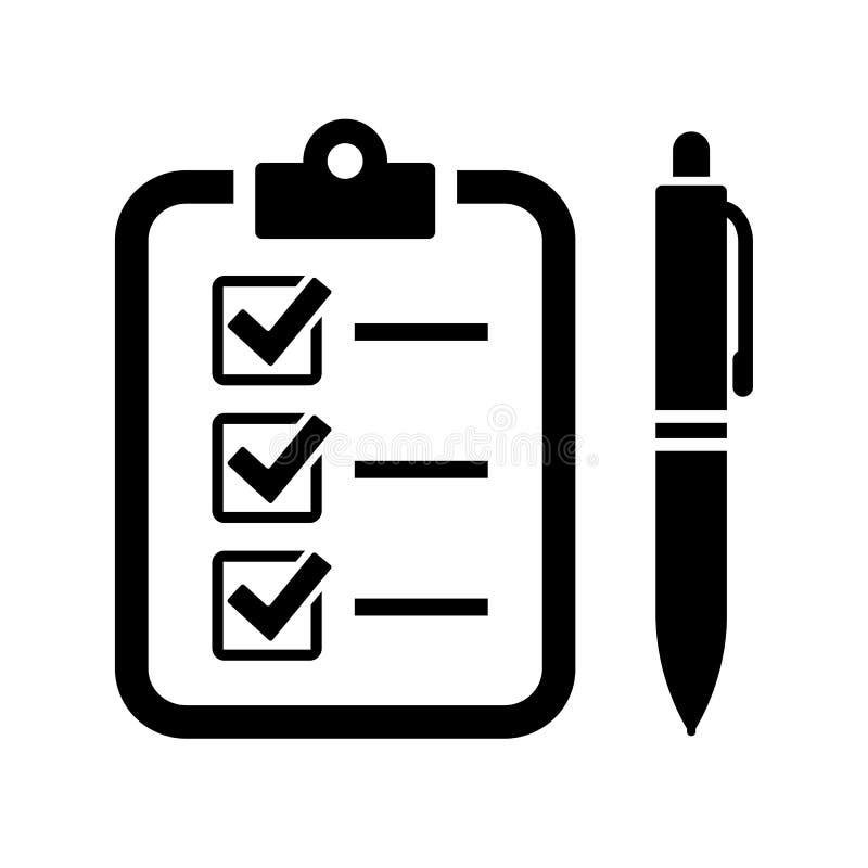 Fyll formvektorsymbolen stock illustrationer