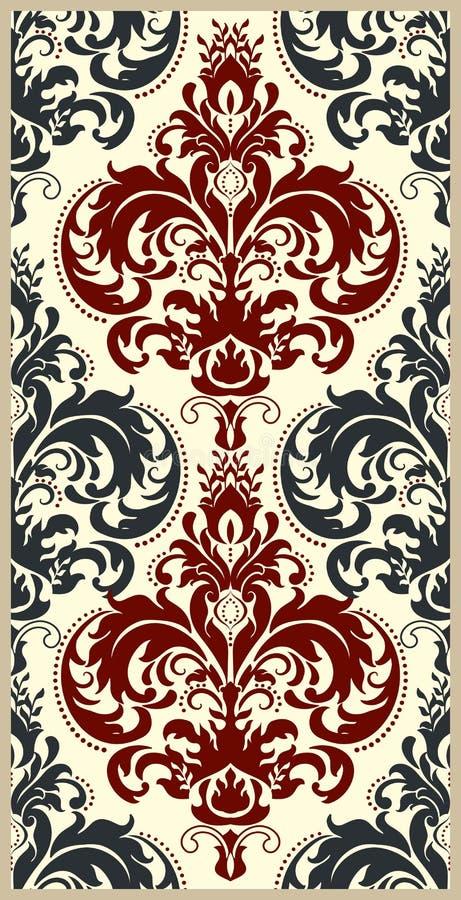 Fyller dekorativ textur för tappning för tapeter, bakgrunder och sidan Indier arabisk bevekelsegrund vektor illustrationer