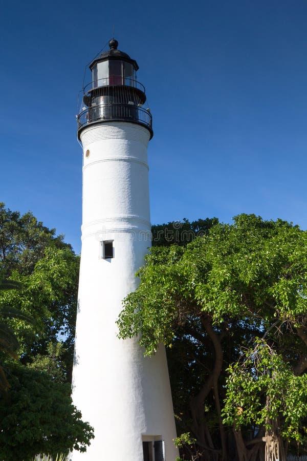 Fyr av Key West arkivbild
