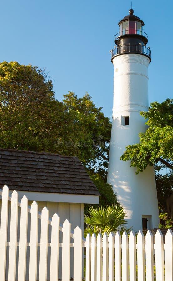 Fyr av Key West royaltyfri foto