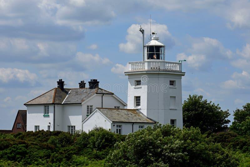 Fyr Cromer, Norfolk, England royaltyfri fotografi