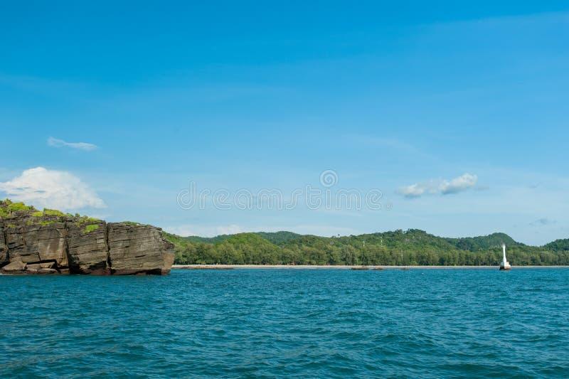 Fyr i havet fotografering för bildbyråer