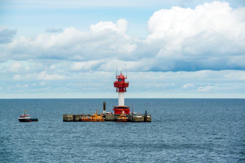 Fyr Kiel royaltyfria foton