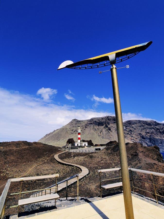 Fyr Tenerife fotografering för bildbyråer