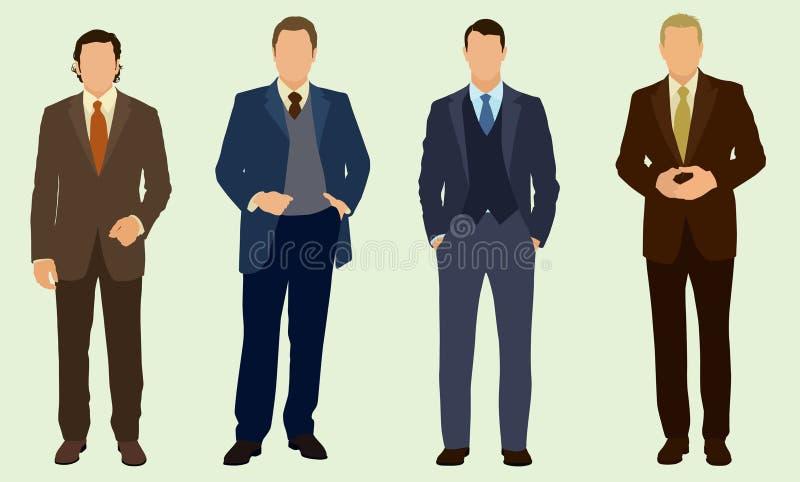 Affärsman royaltyfri illustrationer