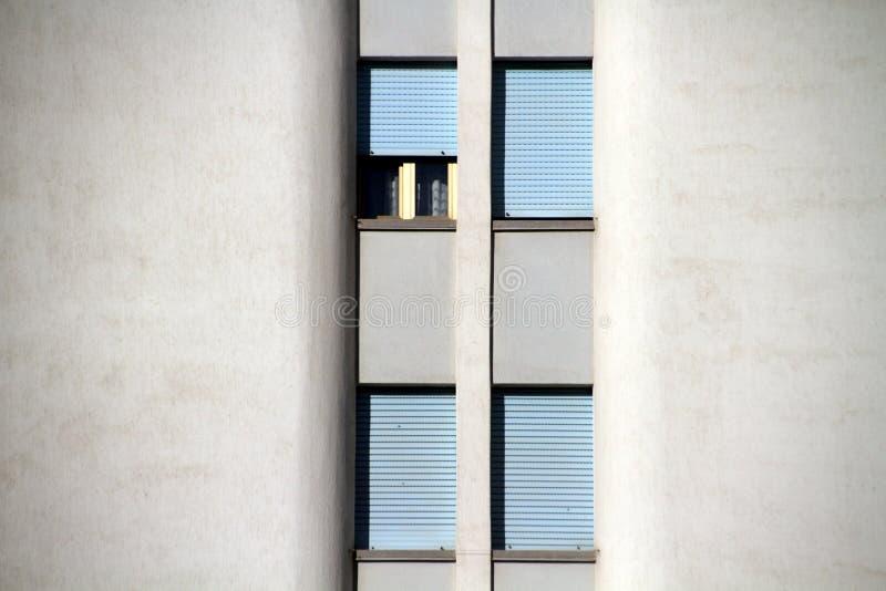 Fyra fönster royaltyfri fotografi