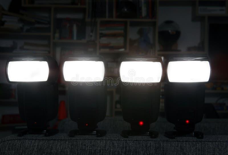 Fyra kameraexponeringar arkivfoton