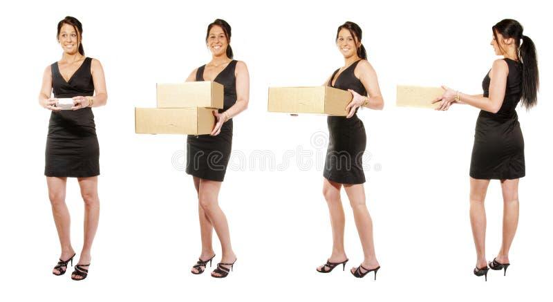 fyra kvinnor arkivbild