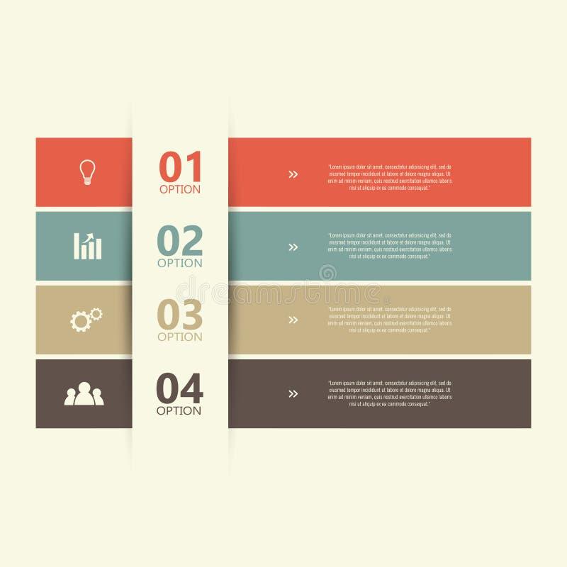 fyra moment stock illustrationer