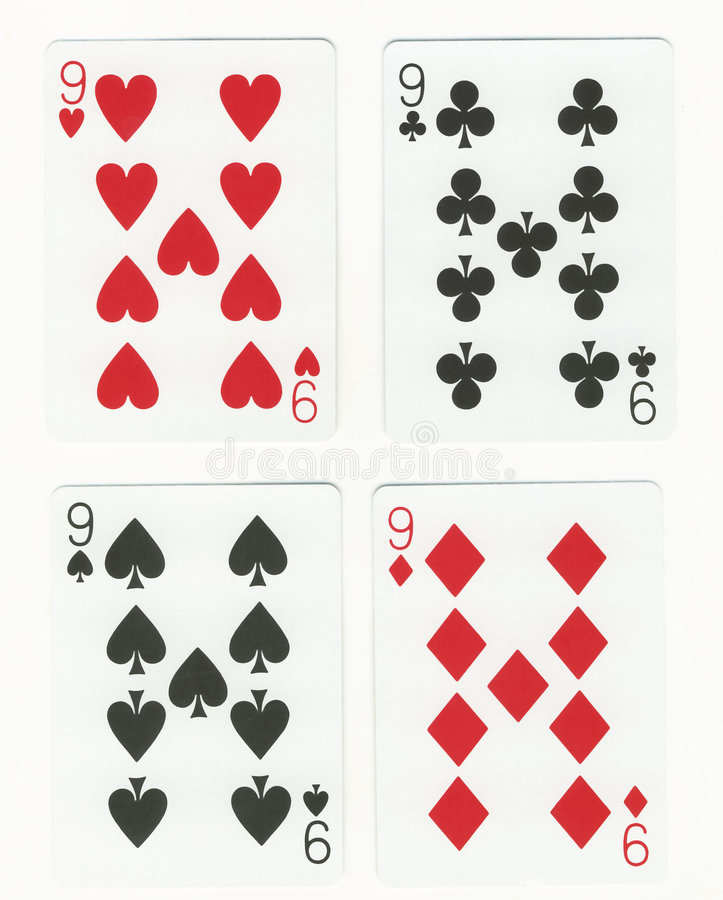 fyra nio s royaltyfria bilder