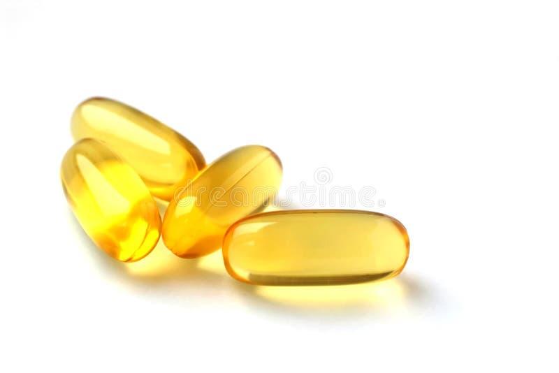 fyra pills royaltyfria foton