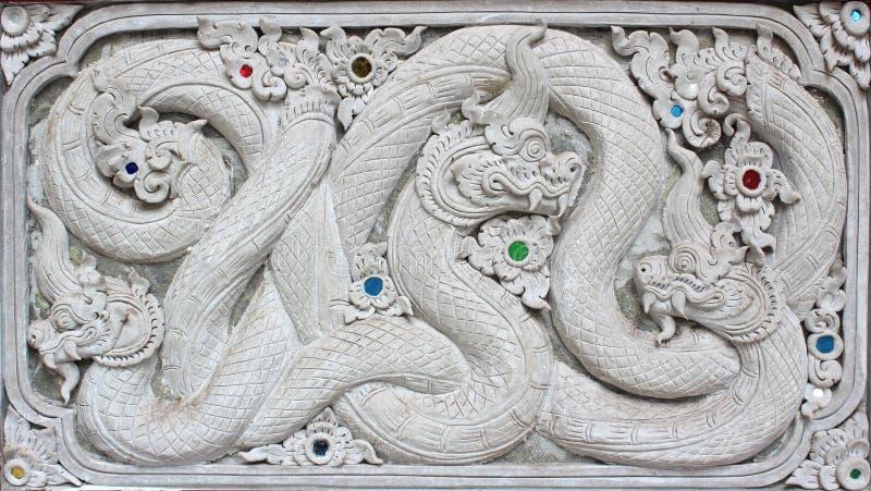 Fyrkant för design för vägg för modell för vit skulptur för stuckatur dekorativ för arkivbilder