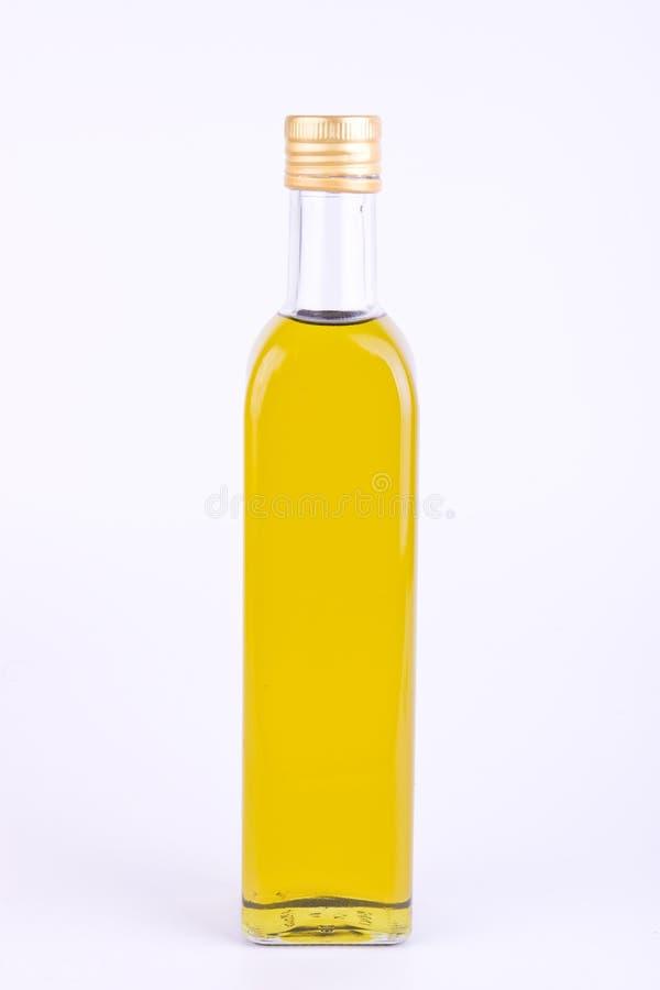 fyrkant för olivgrön för olja för flaskexponeringsglas royaltyfria bilder