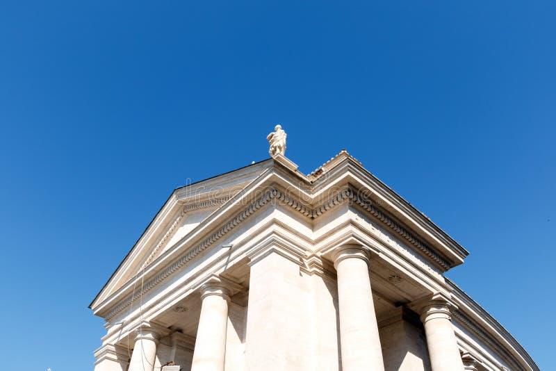 Fyrkant för St Peter ` s, Vatican City, Rome, Italien arkivfoton
