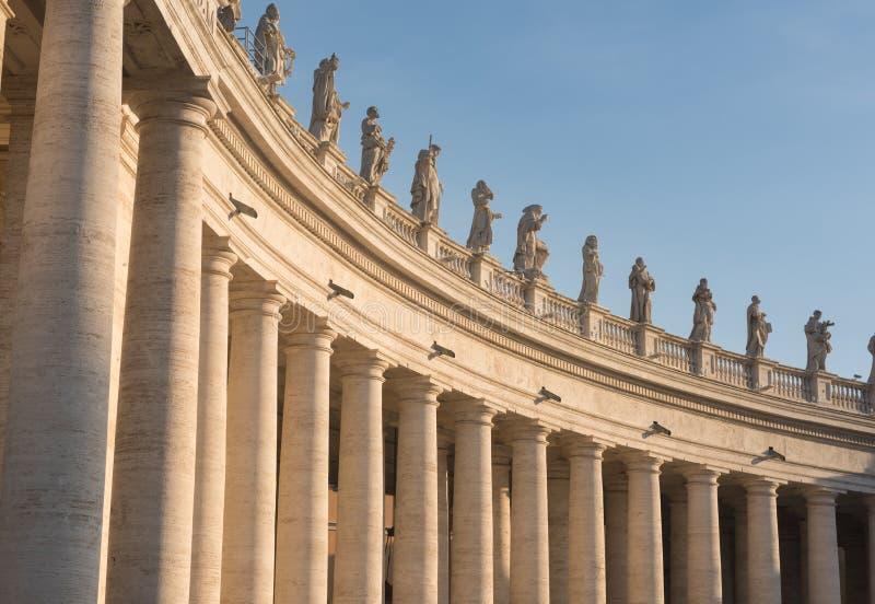 Fyrkant för VaticanenSt Peter ` s royaltyfri foto