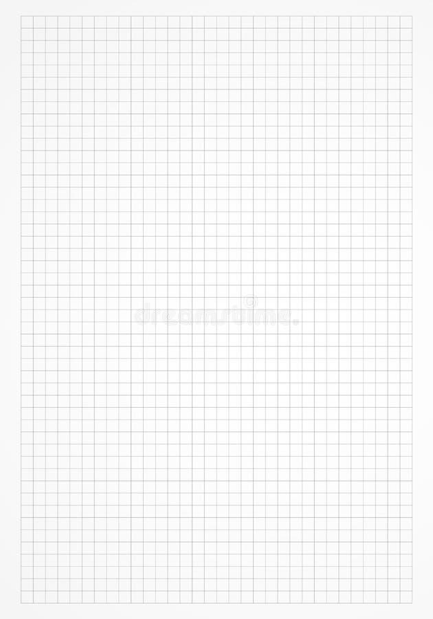 Fyrkant fodrat rasterark vektor illustrationer