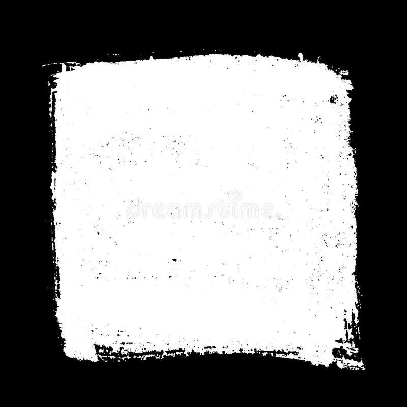 Fyrkant isolerad textur stock illustrationer