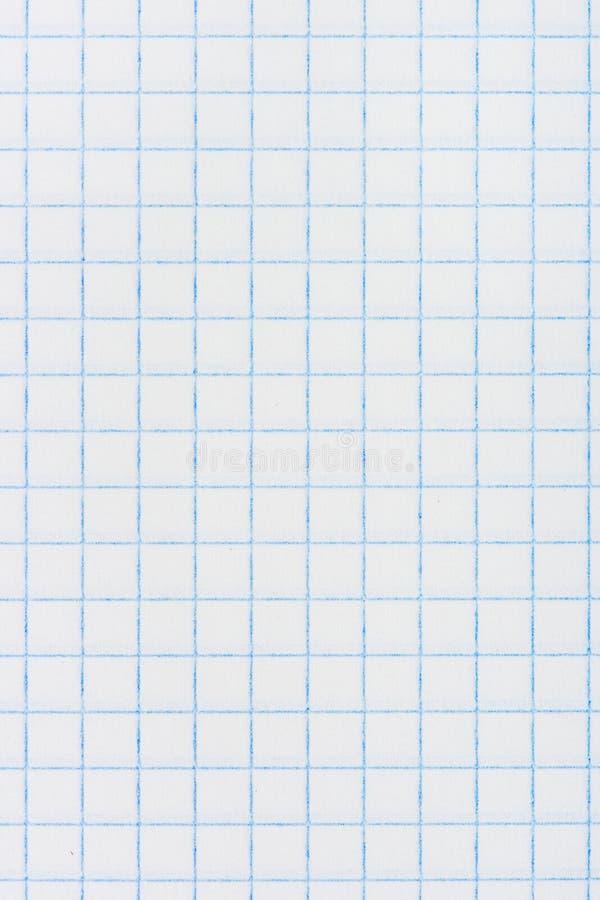 Fyrkantig rutig paper bakgrund arkivbilder
