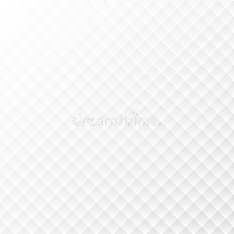 Fyrkantig sömlös modell för vektor abstrakt bakgrund Repeatin vektor illustrationer