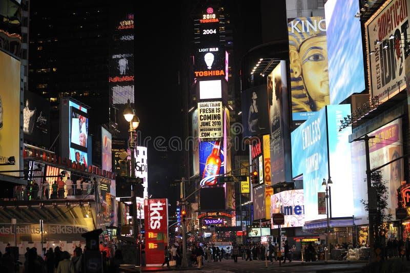 fyrkantig tid för natt fotografering för bildbyråer