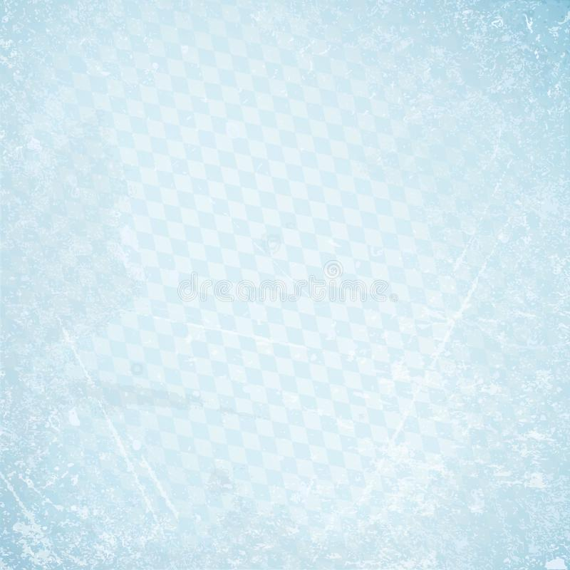 FyrkantOktoberfest Retro pappers- bakgrund diagonala Diamond Pattern Blue royaltyfri foto