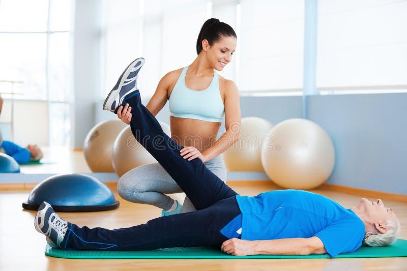 fysiotherapie stock afbeeldingen