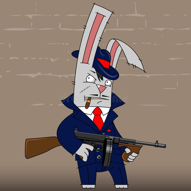 Gángster del conejito libre illustration