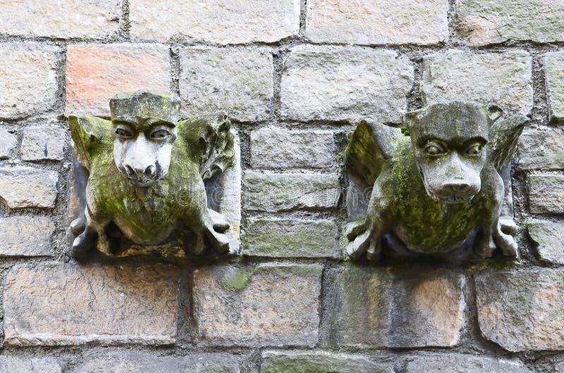 Gárgula de pedra imagens de stock royalty free