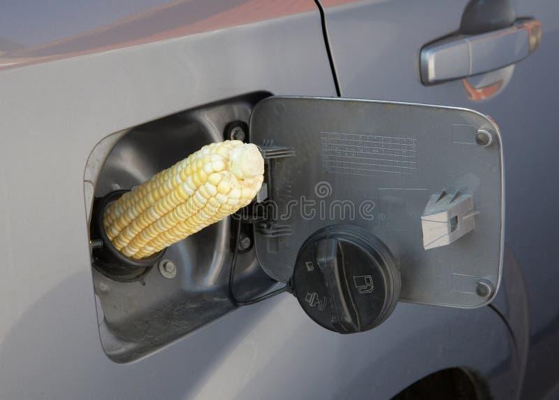 Gás do álcool etílico E85 imagem de stock